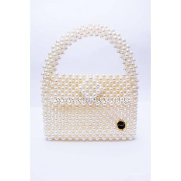 Unique Beaded pearl bag
