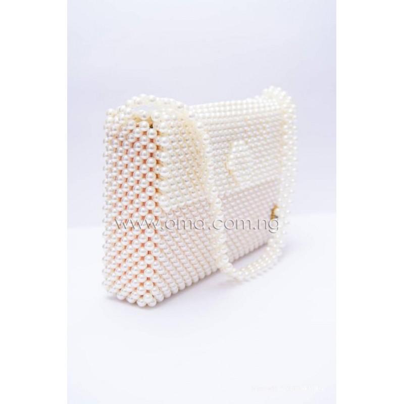 Beaded Pearl shoulder bag